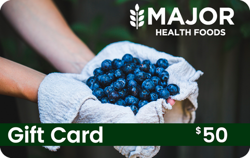 Major Health Foods Gift Card - $50