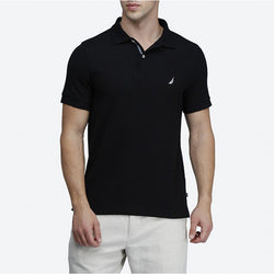 Nautica Slim Fit Black Polo
