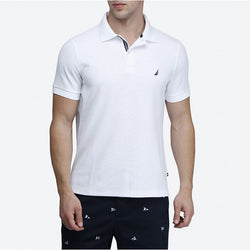 Nautica Slim Fit White Polo