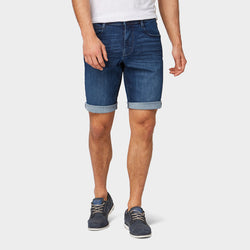 Tom Tailor Josh Dark Blue Regular Slim Denim Shorts