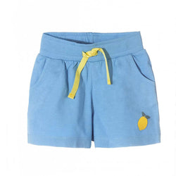 5.10.15 Lemon Patch Light Blue Girls Shorts 1719