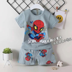 2 Piece set Little Spider Man Sand Grey 1702