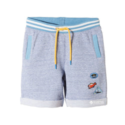 5.10.15 Captain Patches Light Blue Shorts with Yellow Cord 1722
