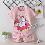 2 Piece Set Donut Care Pink Unicorn 1699
