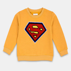 Mango Mustard Superman Sweatshirt 841