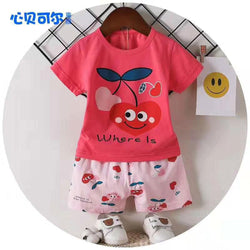 2 Piece set Where is Cherry Soft Red  1711