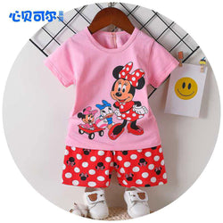 2 Piece set Minnie Mouse Pink 1709