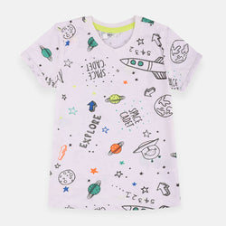 Pepco White Explore Space Tshirt 1488