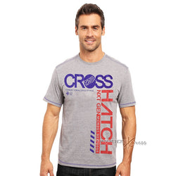 Cross Hatch Grey Printed TShirt #111
