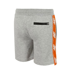 4F Grey Shorts with Orange Side Tape 1727