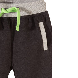 5.10.15 Dark Grey Trouser with Green Cord 1082