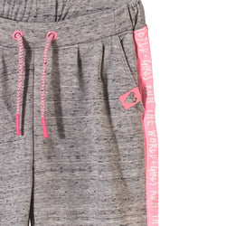 5.10.15 Run the Word Pink Side Tape Grey Trouser 1089
