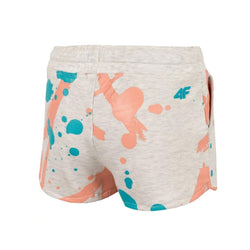 4F Spring Splashes Grey Girls Shorts 1714