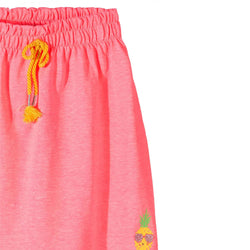 5.10.15 PineApple Print Pink Light Weight Skirt 1729