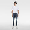 ZR Cropped Skinny Carrot Fit Blue Denim 1271