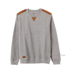 TERRANOVA Elbow Patches Grey Sweatshirt 455