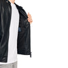 ZR Man Faux Leather Jacket Black
