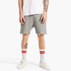Stradivarious Knit Bermuda Shorts Grey