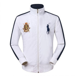 Ralph Lauren Jockey Club Wind Breaker White #1688