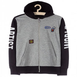 Lincoln & Shark Sprayman Grey Hoodie 674