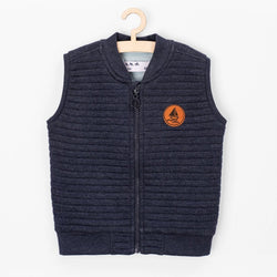 5.10.15 Quilted Sleeveless Ship Blue Jacket 726