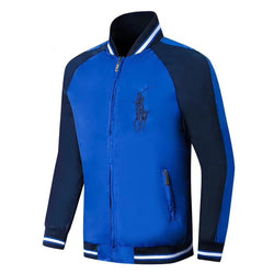 Ralph Lauren Big Pony Wind Breaker Royel Blue #2282