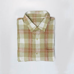 Falls Creek Brown Check Shirt (Cut Label)