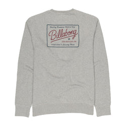Billabong Baldwin Crew Light Grey Sweatshirt 440