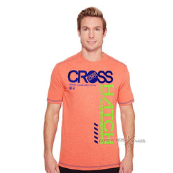 Cross Hatch Pink Printed TShirt #114