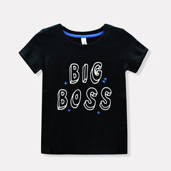 Dymples Big Boss Black Tshirt