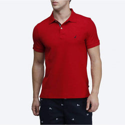 Nautica Slim Fit Red Polo