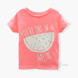 B-Collection Melon Neon Pink TShirt