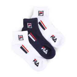 Fila Heritage Stripes Low Cut Socks (3 Pairs)