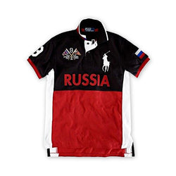 Ralph Lauren Men Big Pony Russia Polo