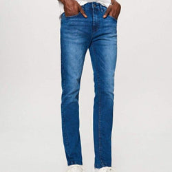 Reserved Blue Faded Slim Fit Denim