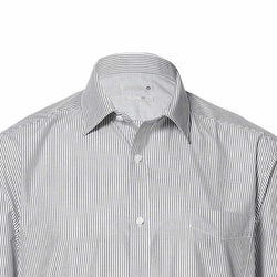 TARGET Men's Grey Stripes Long Sleeve Classic Fit Shirt