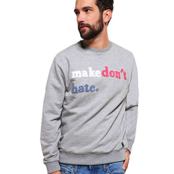 Springfield Embroidery Sweatshirt Gray 434