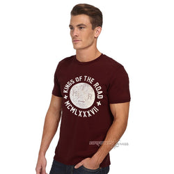 Primark Road King Burgundy T-Shirt