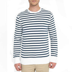 Ecko United White Blue Sailor Stripe Sweatshirt 433
