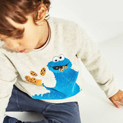 Zara Cookie Monster Sweatshirt 476