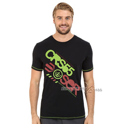 Cross Hatch Black Printed TShirt #102