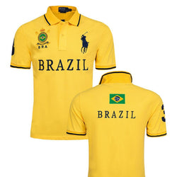 Ralph Lauren Men Big Pony Brazil Polo