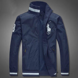 Ralph Lauren Big Pony Wind Breaker Navy Blue #2011