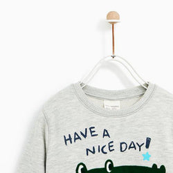 Zara Have A Nice Day Sweatshirt 475