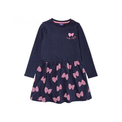 9437c1f3 Quick View Lupilu Butterfly Navy Blue Frock ...