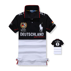 Ralph Lauren Men Big Pony RL Racing Deutchland Polo