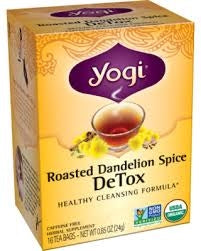 Roasted Dandelion Spice Detox Tea