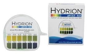 Hydrion PH Strips