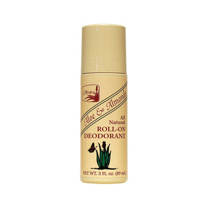 Alvera Aloe and Almond Roll-On Deodorant