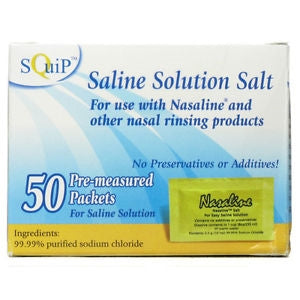 Nasaline Saline Solution Packets